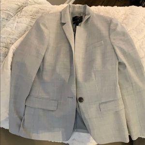 J.crew grey blazer